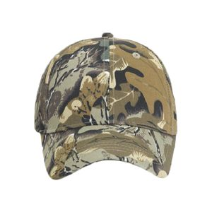 OTTO Camouflage Cotton Blend Twill Youth Six Panel Low Profile Baseball Cap Thumbnail