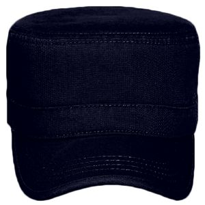 OTTO Garment Washed Superior Cotton Twill Binding Trim Visor Military Cap Thumbnail