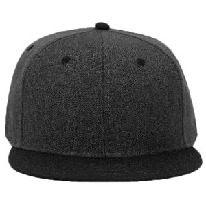 OTTO Heather Wool Blend Twill Round Flat Visor