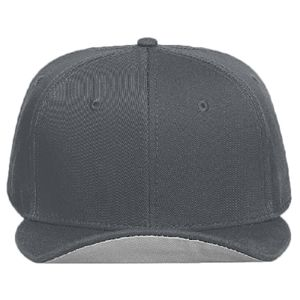 OTTO Superior Cotton Twill Flat To Flip Round Visor Snapback