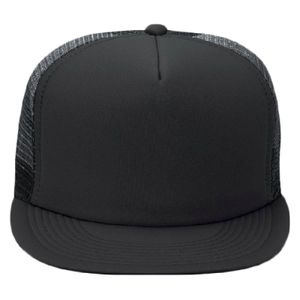 OTTO Polyester Foam Front Round Flat Visor