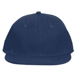 OTTO Stretchable Wool Blend Twill Round Flat Visor