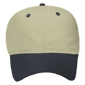 OTTO Polyester Microfiber Six Panel Low Profile Baseball Cap Thumbnail