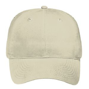 OTTO Brushed Bull Denim Six Panel Low Profile Baseball Cap Thumbnail