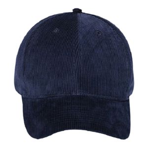 OTTO Corduroy Six Panel Low Profile Baseball Cap Thumbnail