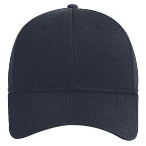 OTTO Cool Comfort Polyester Mini Waffle Mesh Anti-Odor Sweatband Six Panel Low Profile Baseball Cap Thumbnail