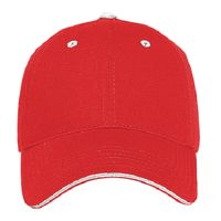 OTTO UV Protection Superior Cotton Twill Sandwich Visor Low Profile Style Cap Thumbnail