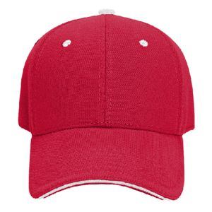 OTTO Pique Knit Sandwich Visor Low Profile Style Cap Thumbnail