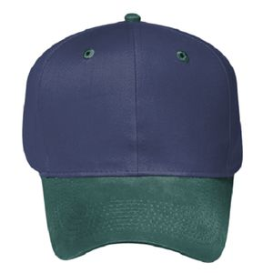 OTTO Brushed Cotton Blend Twill Six Panel Pro Style Baseball Cap Thumbnail