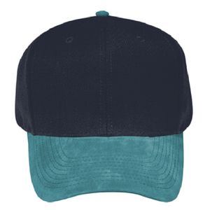 OTTO Suede Visor Wool Blend Twill Six Panel Pro Style Baseball Cap Thumbnail