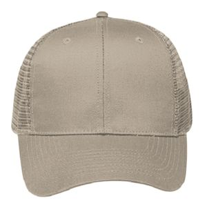 OTTO Cotton Twill Six Panel Pro Style Mesh Back Trucker Hat Thumbnail
