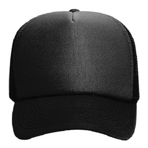 OTTO Polyester Foam Front Five Panel Pro Style Mesh Back Trucker Hat Thumbnail
