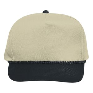 OTTO Wool Blend Twill Five Panel Low Crown Baseball Cap Thumbnail