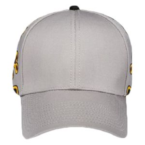 OTTO Flame Pattern Cotton Blend Twill Six Panel Low Profile Baseball Cap Thumbnail