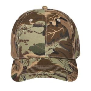 OTTO Camouflage Cotton Blend Twill Six Panel Low Profile Baseball Cap Thumbnail