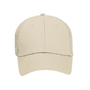 OTTO Cotton Twill Six Panel Low Profile Mesh Back Trucker Hat Thumbnail