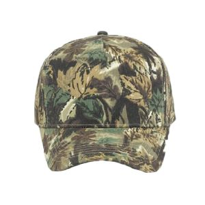 OTTO Camouflage Brushed Cotton Blend Twill Five Panel Pro Style Baseball Cap Thumbnail