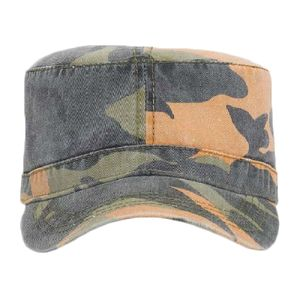 OTTO Camouflage Garment Washed Superior Cotton Twill Military Cap Thumbnail