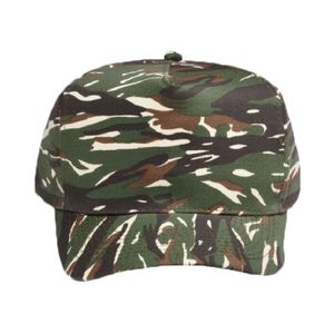 OTTO Camouflage Cotton Blend Twill Five Panel Low Crown Structured Firm Front Panel Baseball Cap Thumbnail