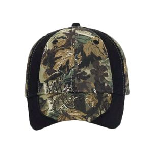 OTTO Camouflage Piping Design Cotton Twill Six Panel Low Profile Baseball Cap Thumbnail