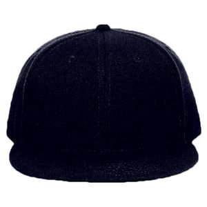 d193aede928 OTTO Wool Blend Twill Round Flat Visor